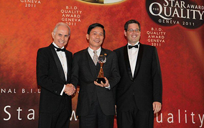 Duc Khai Corporation received the International Star for Leadership in Quality Award